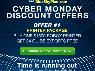 CYBER MONDAY OFFERS - Blue Sky Plan Exports