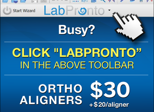 Don't Align With Your Competition! Order Aligners via LabPronto Instead!