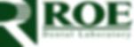roe dental laboratory logo