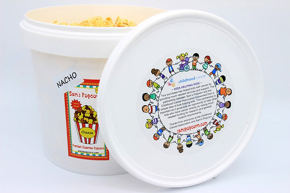 Nacho Cheese Popcorn Pail (400g)