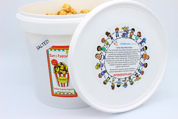 Salted Caramel Popcorn Pail (650g)