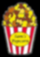 Sam's Popcorn logo