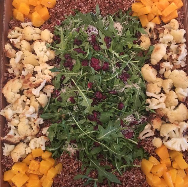 Butternut Squash, Cauliflower Quinoa Box