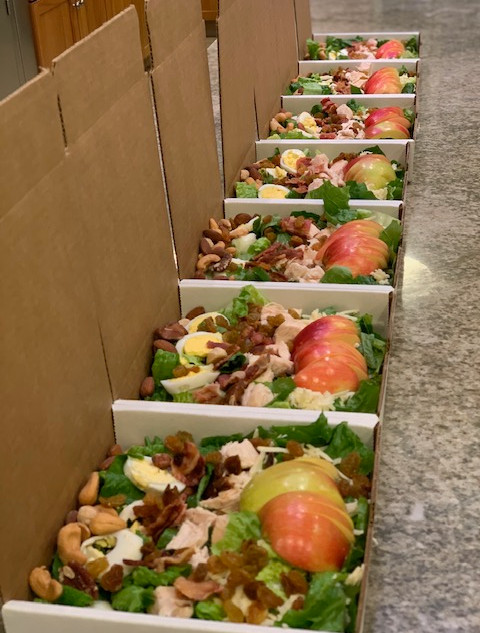 Individual Wilson Point Salad Boxes