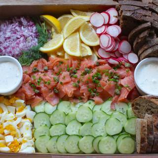 Smoked Salmon Box