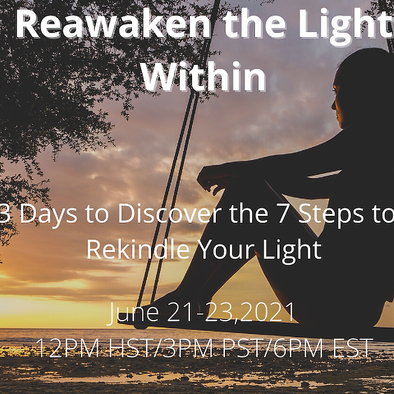 Reawaken the Light Within Challenge