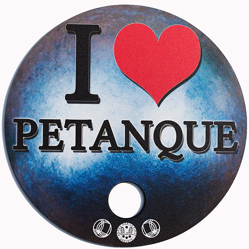 "Tapis de Pétanque ""Luxe"" I LOVE"