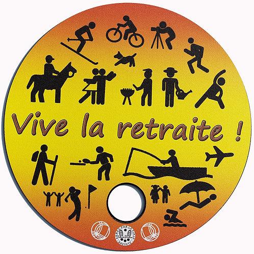 """Tapis de Pétanque """"Luxe"""" RETRAITE"""