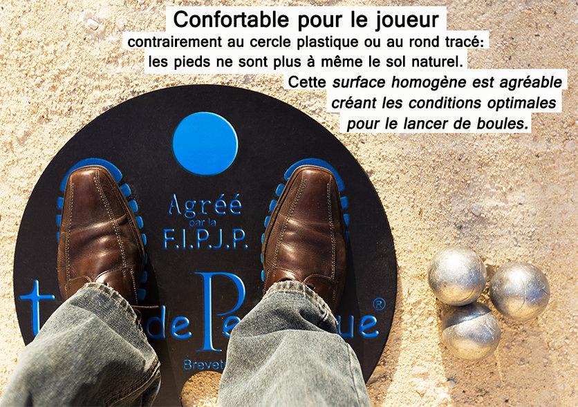 tapisdepetanque.com tapis de pétanque pieds confort