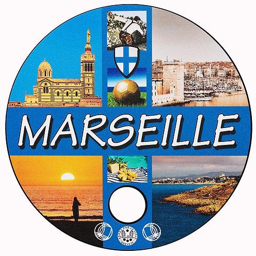 "Tapis de Pétanque ""Luxe""MARSEILLE"