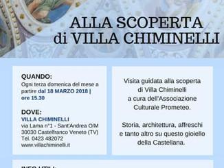Alla scoperta di Villa Chiminelli