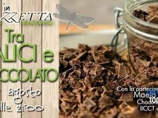 Tra calici e cioccolato - degustazione di vini biologici e di cioccolati dal mondo
