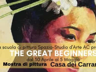 Mostra di pittura The Great Beginners a Casa dei Carraresi