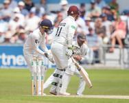 Lyth pouches Davies for Maharaj's 5th wi