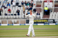 100 for Jennings at Old trafford, day 2_