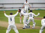 Head, Travis survives a scare, Sussex at