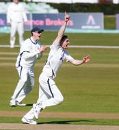 Jordan Thompson's wicket today, Canterbu