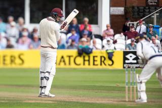 Bartlett stumped Tattersall bowled Mahar