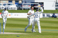 11) Tattersall likes Brown being bowled