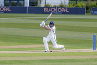 Cover drive by Lyth this morning_61Z5044