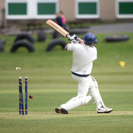 _61Z4392 Matthew Naylor (Pool CC) out in
