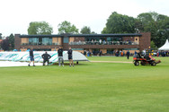 covers on, rain before play, Day 1_H9A10