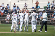 Willey celebrating run out of Elgar_61Z7