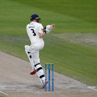 Tight Yorkshire bowling din't allow many
