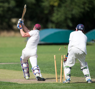 Hopton gone, bowled Ahmed Bhatti