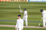 16) Lyth acknowledges his 50 in 2nd inns