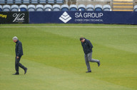 Umpires, Saggers & Llong, final inspecti