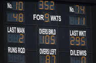 No 10 Coad out on 48 Olivier 11 not out_