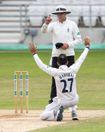 Maharaj gets the verdict for his 10th wi