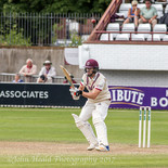 You're right to look worried Mr Leach: lbw Sidebottom.