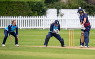 Bess Heath watches the ball into the glo