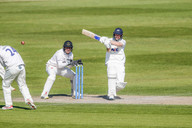 14) Lyth's shot (boundary) for his 50_61