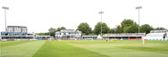 Chelmsford, view acroos to pavilion from