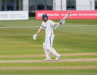 Lyth acknowledges his 50 in 1 hour at Ca
