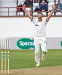 8a Brooks successfully appeals lbw of Lewis Gregory_61Z7375-2.jpg