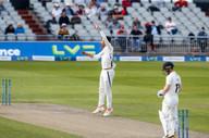 First wkt down for Lancashire- Davies c