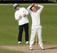 No-one's saying the umpire's bent but he