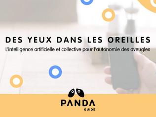 Panda Guide, le casque qui permet de voir avec les oreilles
