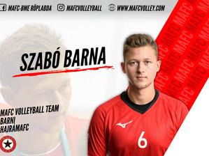 Második szezonját kezdi meg a MAFC színeiben, Szabó Barna!