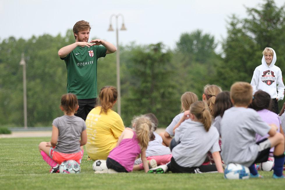 Calvin Soccer Day Camp