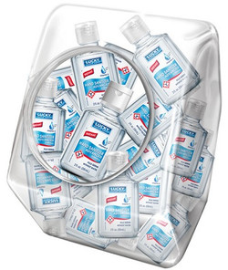 401798 - lucky hand sanitizer jar 36ct