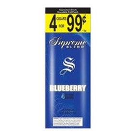 Supreme Cigarill Blueberry 4/.99 15