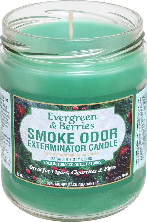 Smoke Odor Jar Evergreen & Berries 13Oz