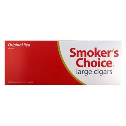 Smokers Choice Lg Red 100 Soft 10Ct