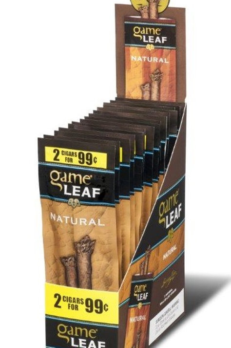 Game Leaf Cigar Natural 2/.99 15