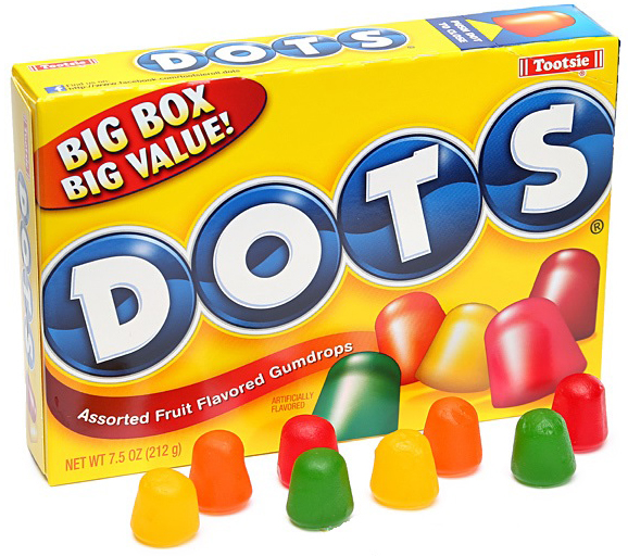 DOTS ORIGINAL 6.5OZ BOX